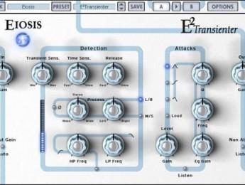 Procesador de transitorios Eiosis E²Transienter