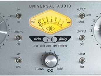 UA 710 Twin-Finity: el preamplificador transformista