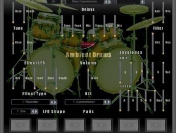 Plugin de baterías ambientales MHC Ambient Drums
