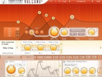 Plugin de filtros Volcano 2 de FabFilter