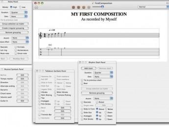 Tablatures 1.7 de Tellini para Mac