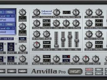 Sinte virtual Anvilia Pro con Enhanced Colorizer
