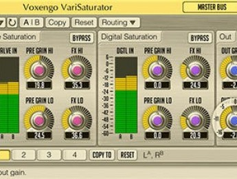 Voxengo VariSaturator 1.3 disponible