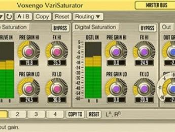 Voxengo VariSaturator 1.3 disponible