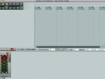 Beta de Reaper para Mac