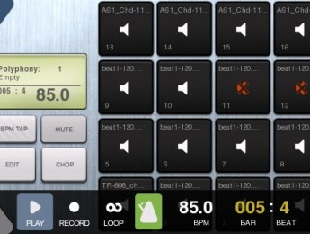 BeatMaker, un estudio musical para iPhone e iPod Touch