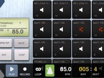 BeatMaker, un estudio musical para iPhone e iPod Touch