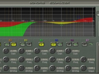 Sonoris Equalizer y Linear Phase Equalizer