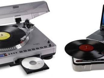 Digitalizadores de vinilos Numark PT-01USB y LP 2 CD