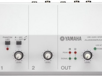 Interfaces USB Yamaha Audiogram
