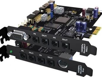 RME HDSPe RayDAT, una Hammerfall PCI Express