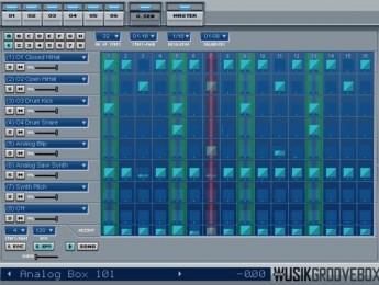 Caja de ritmos virtual WusikGrooveBox