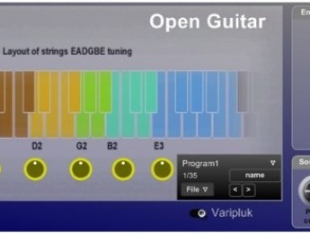 SMPlugins presenta Open Guitar