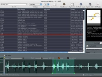 Soundminer 4.1.8 accede directamente a Sonomic