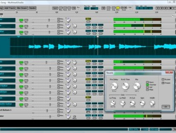 Disponible MultitrackStudio 5 de Bremmers Audio Design
