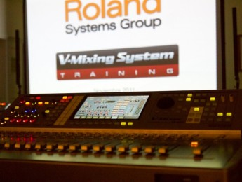 Segundo Training Tour de Roland Systems Group