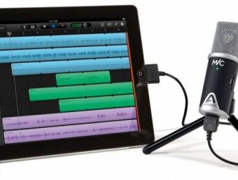 Apogee Mic, un micrófono para iPad y iPhone