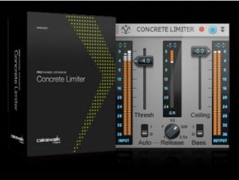 Cakewalk anuncia ProChannel Concrete Limiter y Sonar X1d