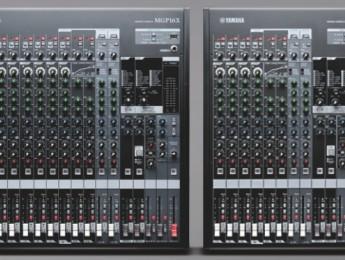 Nuevas mesas MGP de Yamaha