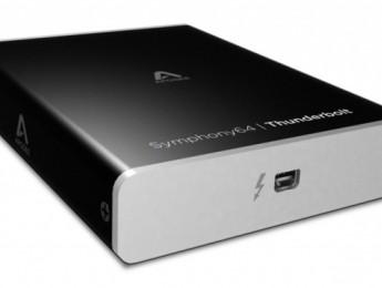 Apogee presenta Symphony 64 Thunderbolt y módulo analógico 16x16