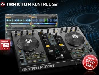 Traktor Kontrol S2 a 399€ hasta el 31 de marzo