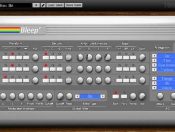 ToneBytes presenta Bleep, un sintetizador gratuito para Windows