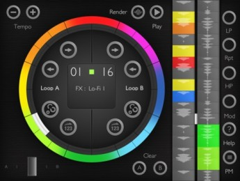 Loop Twister, una nueva app para remezclar loops en iOS
