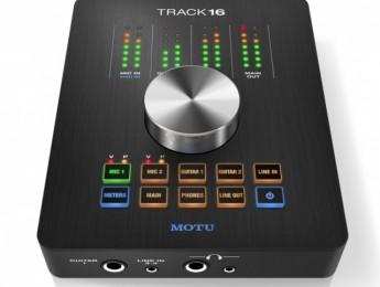 MOTU lanza Track16