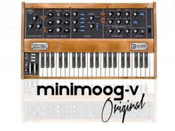 Arturia Minimoog V Original disponible