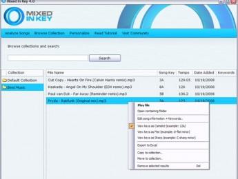 Mixed in Key alcanza la versión 4.0