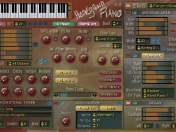 Homegrown Sounds presenta un piano para música ambiental