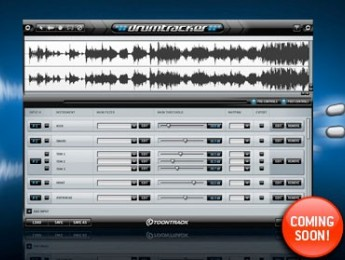 Toontrack Drumtracker disponible próximamente