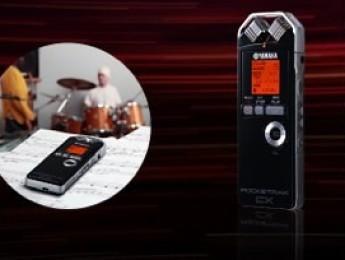 Nuevo grabador de bolsillo Yamaha Pocketrak CX