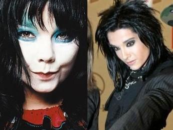 Bjork y el cantante de Tokio Hotel