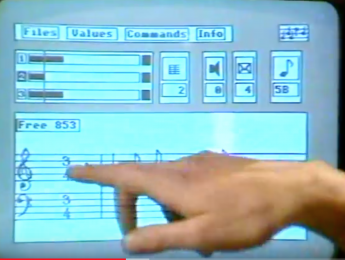 1985, Spectrum y MIDI en la BBC