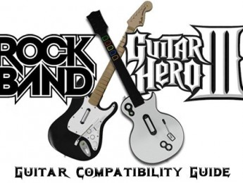 Guía de compatibilidad Guitar Hero y Rock Band