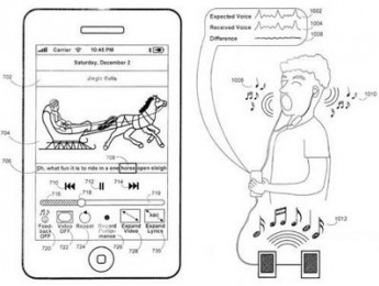 Apple patenta el karaoke en el iPhone