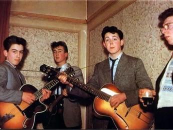 The Beatles en 1957