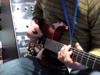El sustain de la guitarra Moog