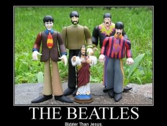 Los Beatles son más grandes que Jesucristo
