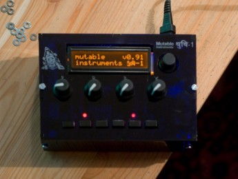 Mutable Instruments Shruthi-1 a fondo