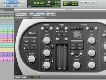 Reemplazar sonidos de batería con DrumXchanger