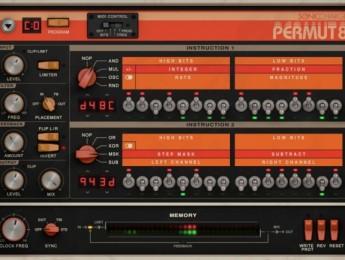 Permut8, efectos digitales a la antigua