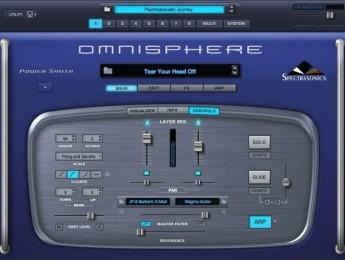 Sonidos y patrones en directo con Omnisphere