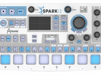 Arturia presenta SparkLE Drum Machine