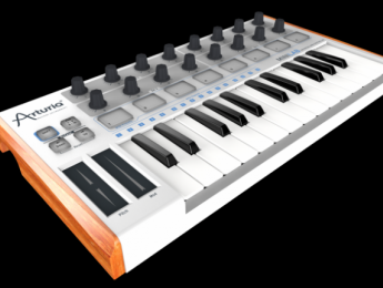 Arturia lanza MiniLab: Teclado MIDI compacto y 5.000 sonidos