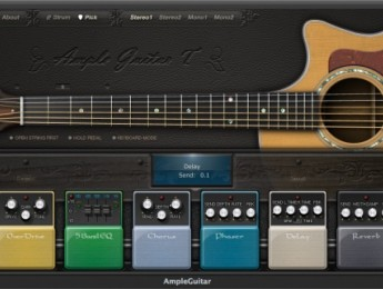 Guitarras acústicas y eléctricas, ahora también en formato AAX