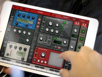 Thor de Propellerhead disponible para iPad