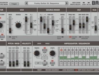 TAL BassLine 101, bajo analógico virtual de Togu Audio Line
