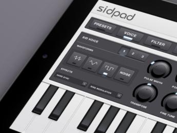 Sidpad, sinte chiptune 8-Bit para iPad